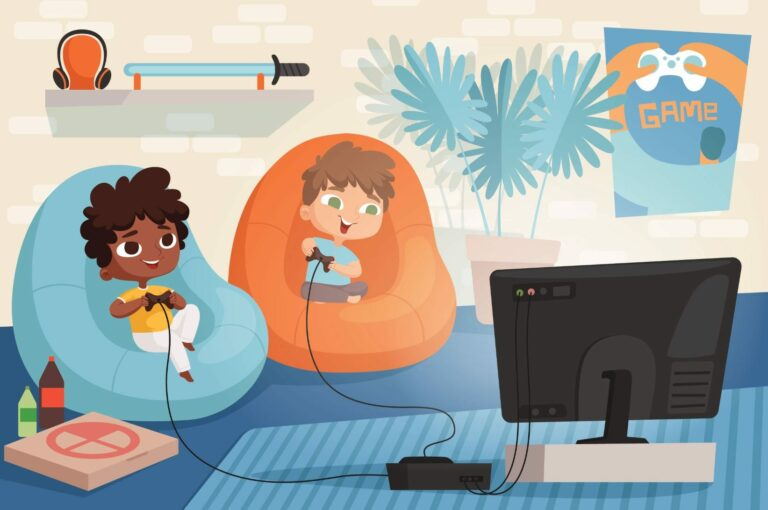 The impact of video games on children's brains